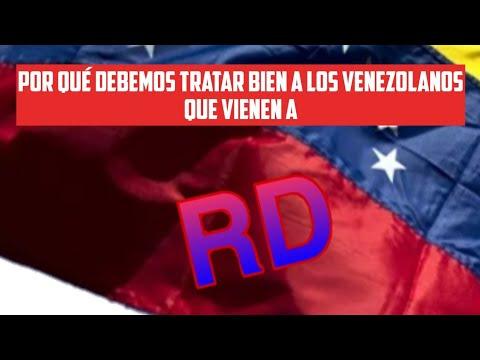 #venezolanosemigranRD #venezolanospaRD Venezolanos: Destino  Rep. Dom. Por Qué? - Ago 2019