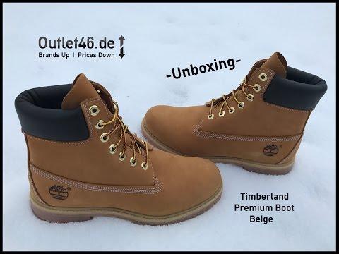Timberland Premium Boot DEUTSCH Unboxing l Review l Overview l Haul l Outlet46