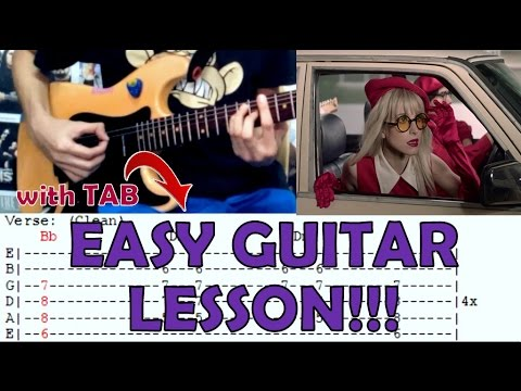 Told You So - Paramore (Easy Guitar/Lesson Cover)with Chords and Tab