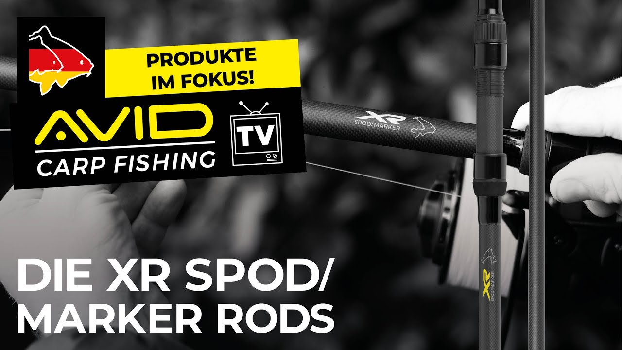 Avid XR Spod And Marker Rod *10ft Or 12ft* NEW Carp Fishing Spod Rod