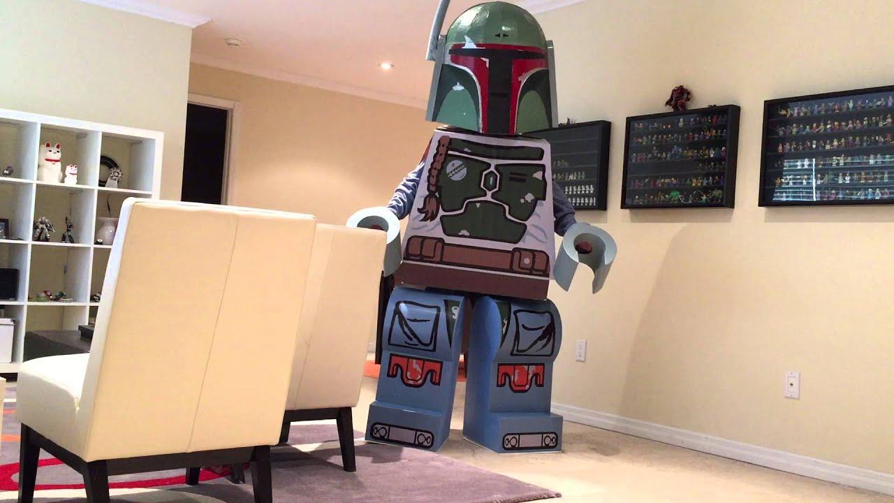 Lego Boba Fett Costume Youtube
