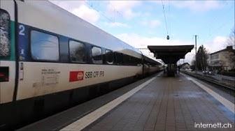 Bahnhof Grenchen Süd und Bahnhof Grenchen Nord