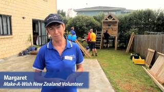 Michael's Wish To Have A Playhouse - Make-a-wish New Zealand