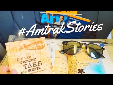 Traveling the East Coast with AMTRAK!