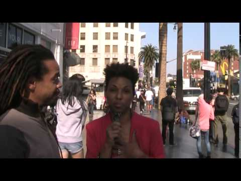 Street Interview UNEDITED RAW FOOTAGE George Blake on Leslie Jones - eyeoverdoit
