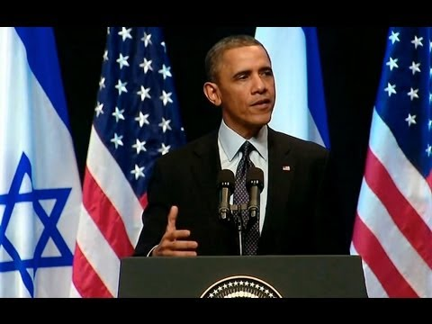 President Obama Speaks To The People Of Israel