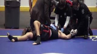10th World Wushu Championship - Sanshou KNOCKOUT!