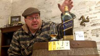 whisky review 243 - Johnnie Walker Blue Label