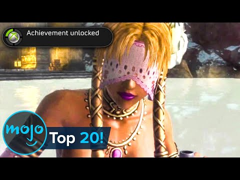 Top 20 Most Embarrassing Video Game Trophies and Achievements