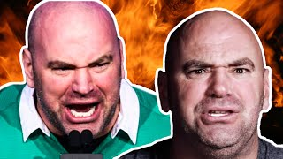 Dana White being angry for 6 minutes..