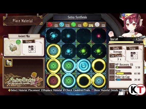 Atelier Sophie -  New Alchemy System
