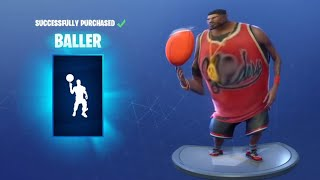 FORTNITE BALLER EMOTE BASS BOOSTED *(EAR RAPE)