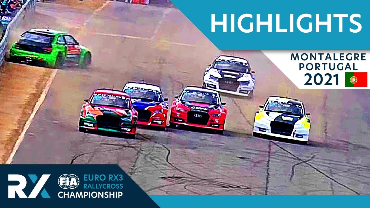 Euro RX3 Final Highlights : Cooper Tires World RX of Montalegre 2021 : Portugal Rallycross