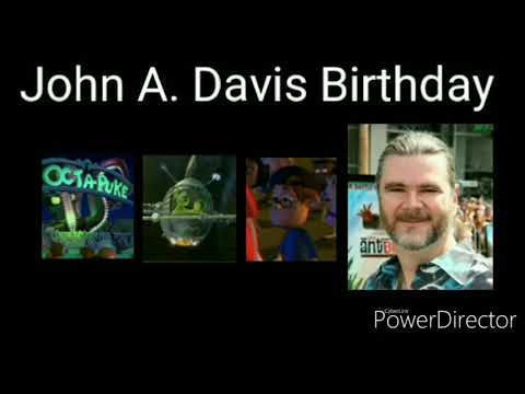 John A. Davis Birthday