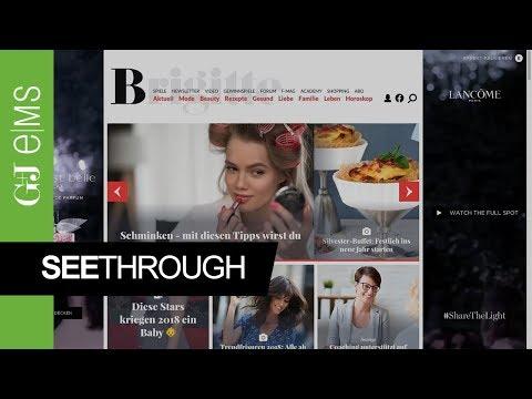 See Through | L'ORÉAL | Rich Media Ad Special | G+J e|MS