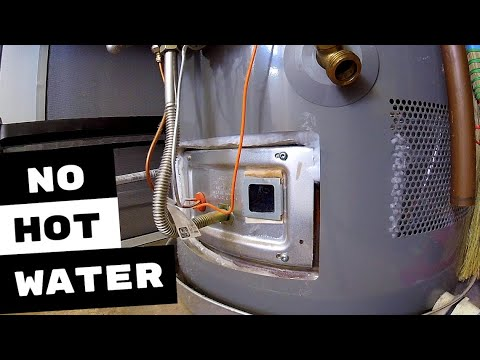 RHEEM GAS WATER HEATER RUNS OUT OF HOT WATER