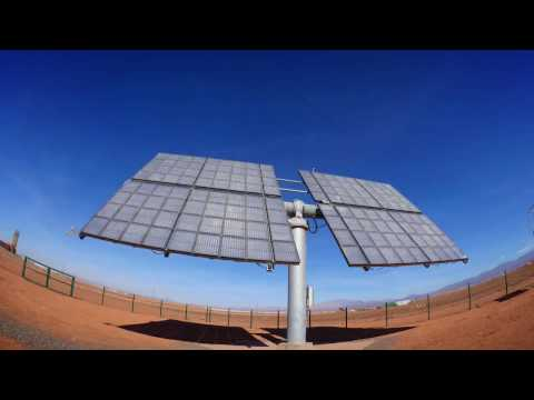 Concentrator Photovoltaic System in Morocco