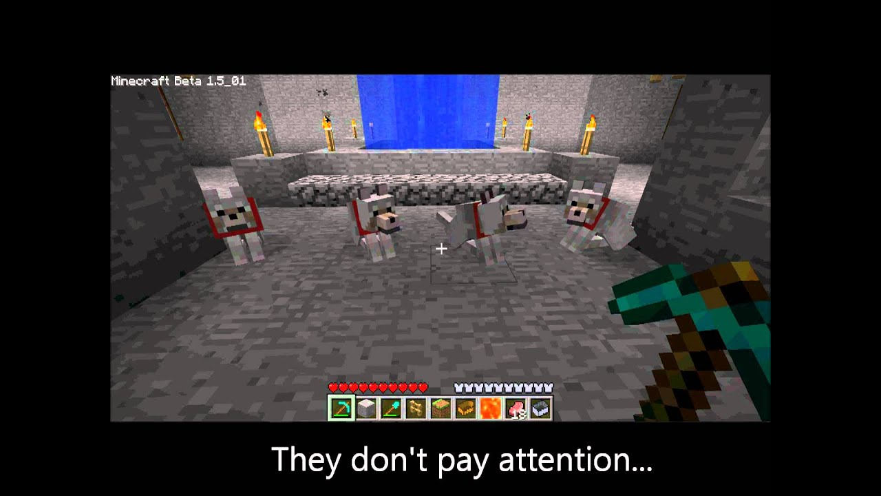 Funny Dogs - Minecraft - YouTube