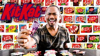 I Tried EVERY Kit Kat Flavor In The World | Alonzo Lerone