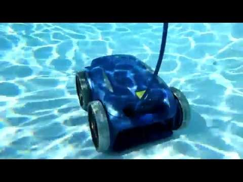 vortex 3 4w robot autonome nettoyeur piscine by zodiac piscine et jardin youtube. Black Bedroom Furniture Sets. Home Design Ideas
