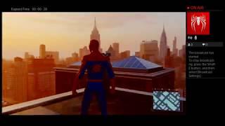 LIVESTREAMING: Spider-Man (PS4 Pro)   #SpiderManPS4 #TeamJVS