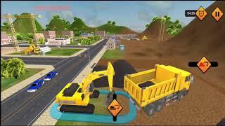 City Road Builder Construction 2021 - Long Highway Excavator Vehicles Simulator -  GamePlay screenshot 3