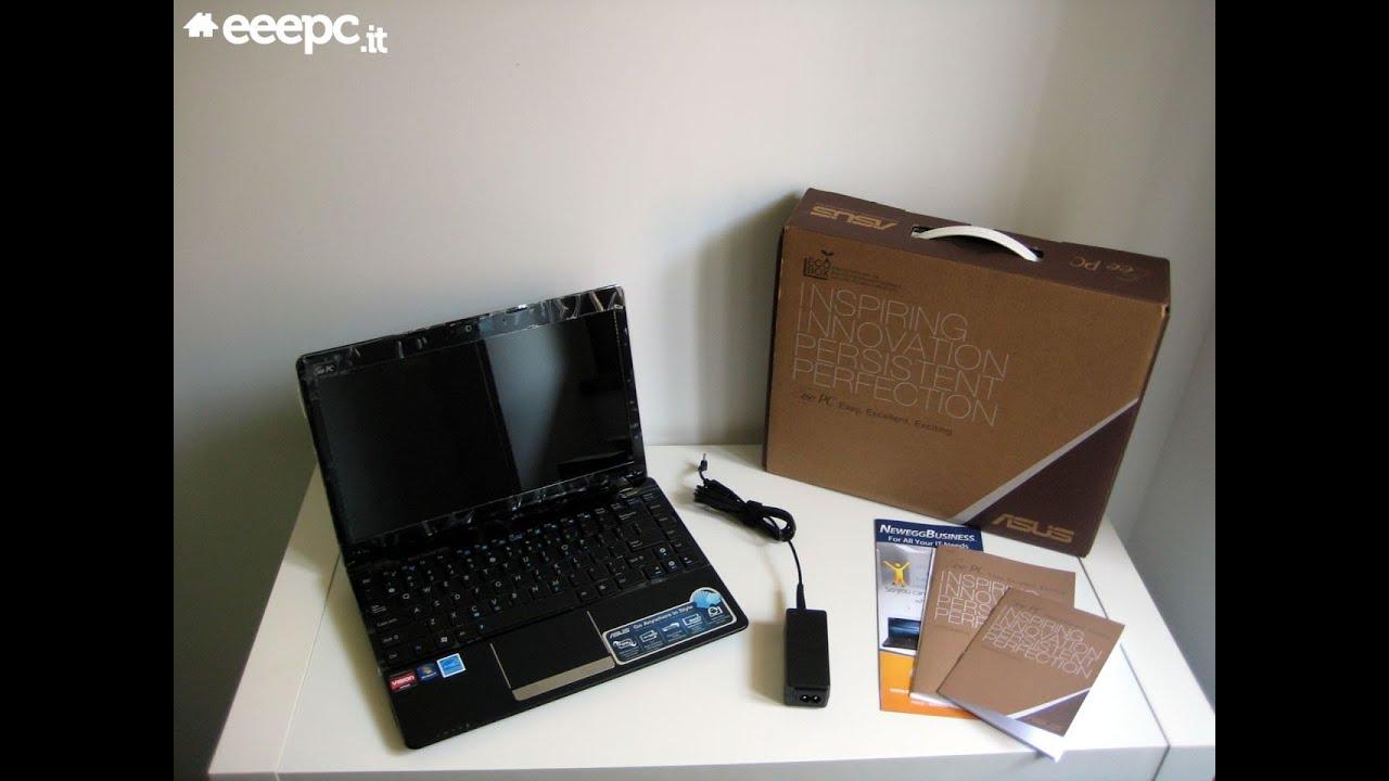 ASUS Eee PC 1215B - Video Unbox e Prime Impressioni (ITA)