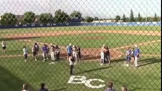 Boys Baseball Bakersfield Christian vs  Wasco 5/10/2018