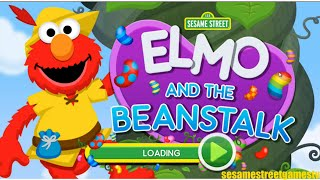 Sesame Street Elmo And The Beanstalk Jumping Game Full Online Kids Preschool Fun
