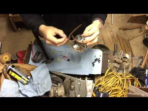 1989 SkiDoo Mach 1 Snowmobile Carb Cleaning Tutorial