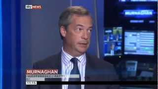 UKIP Nigel Farage & Red Ken Livingstone on collapsing Eurozone Sky News 10 Jun 2012