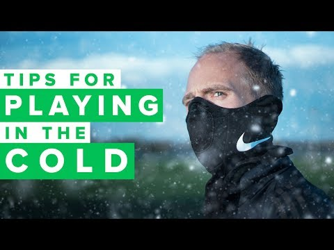 5 tips for playing in the cold | WINTER FOOTBALL GEAR