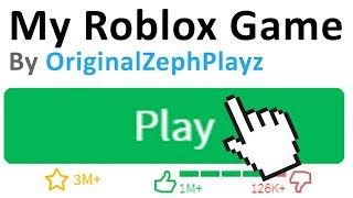MAKING MY OWN ROBLOX GAME!