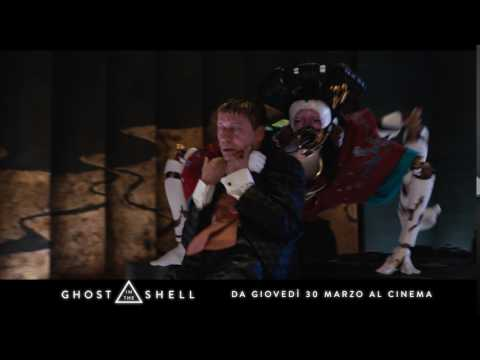 "GHOST IN THE SHELL con Scarlett Johansson - Spot italiano ""Leader"""