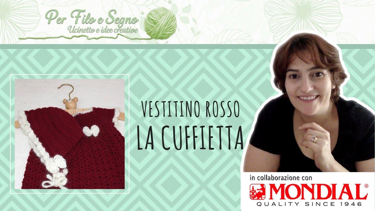 timeless design a8ac6 cbb3b Tutorial - Vestitino Rosso - La Cuffietta