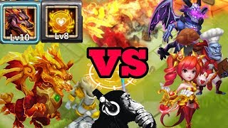 Lavanica | New Dragon | Tenacity | Vs | 15 top heroes | Castle clash