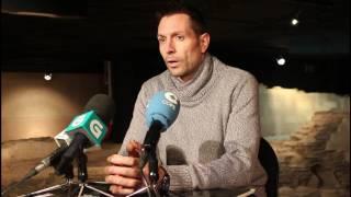 """Video Natxo Lezkano Rueda de prensa en la """"Casa de los Mosaicos"""""""
