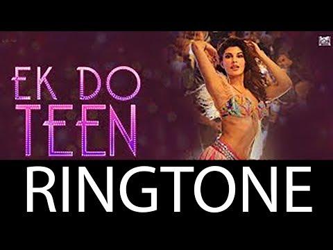Ek Do Teen Ringtone  Baaghi 2  Jacqueline Fernandez  Tiger Shroff  Disha P  KRS