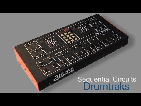 SEQUENTIAL CIRCUITS DRUMTRAKS Vintage Drum Machine 1984   HD DEMO