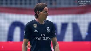 Luka Modrić goal Olympique lyonnais vs Real Madrid   F FA 19 Highlights