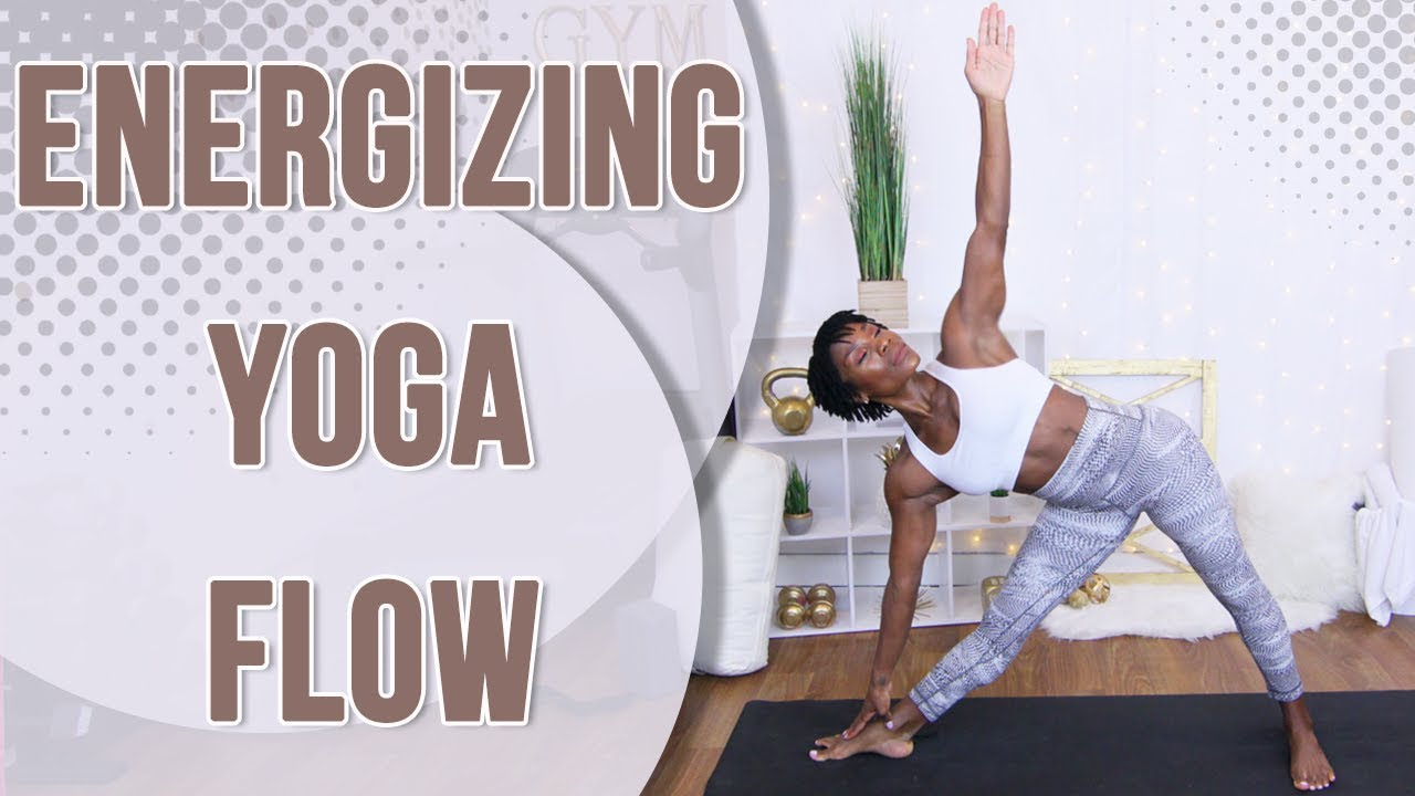 25 Minute Energizing Yoga Flow | Yoga with Puzzle Fit |