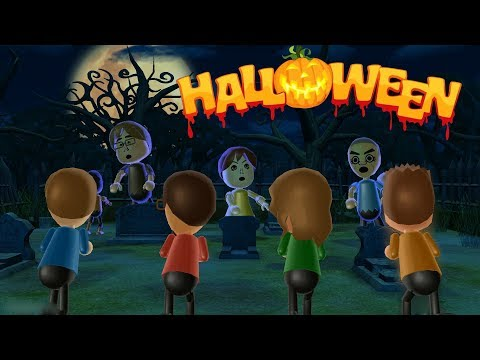 Wii Party - Halloweeen Special Zombie Tag |