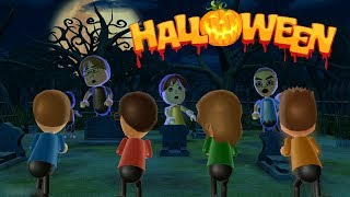 Wii Party - Halloweeen Special Zombie Tag