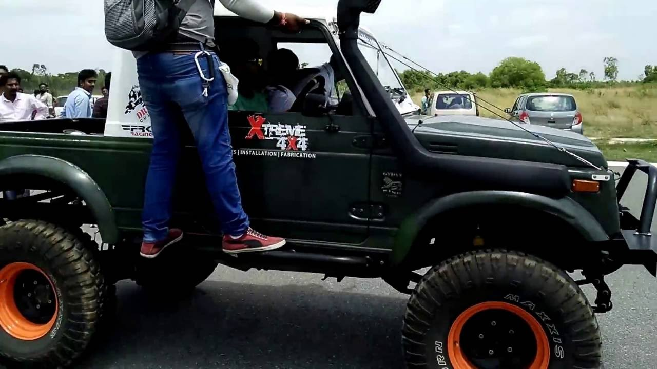 Modified Jeep Bangalore Motoadda Racing Youtube