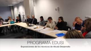 Desarrollo  de la 2ª Jornada de trabajo EDUSI