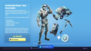 Fortnite bataille royale New Deep Freeze Bundle disponible dès maintenant
