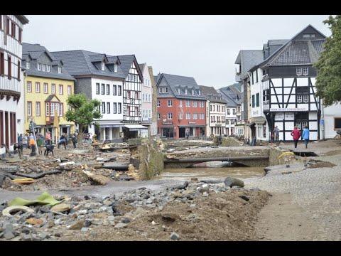 Bad Münstereifel in Trümmern