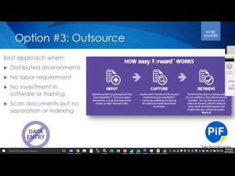 AP Invoice and Sales Order Capture Automation