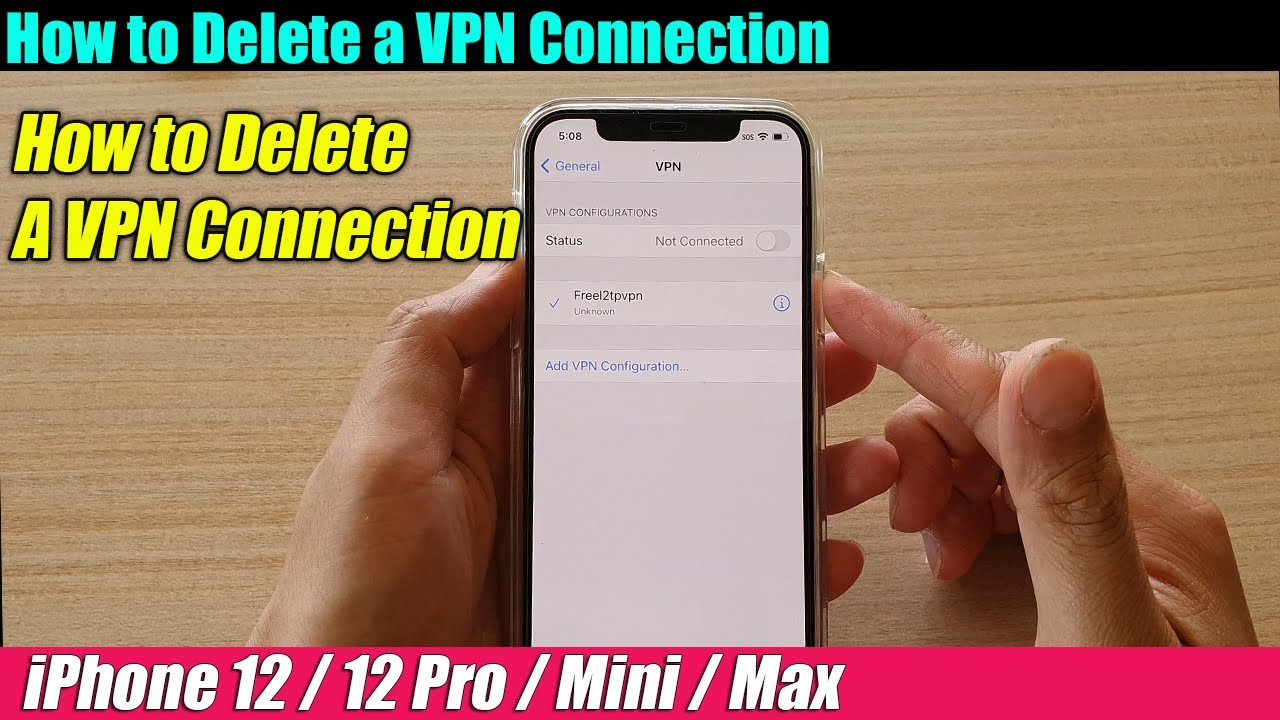 Iphone Keeps Asking For Vpn Connection