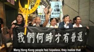 60% of Hong Kong People Vote for Redress of June 4th